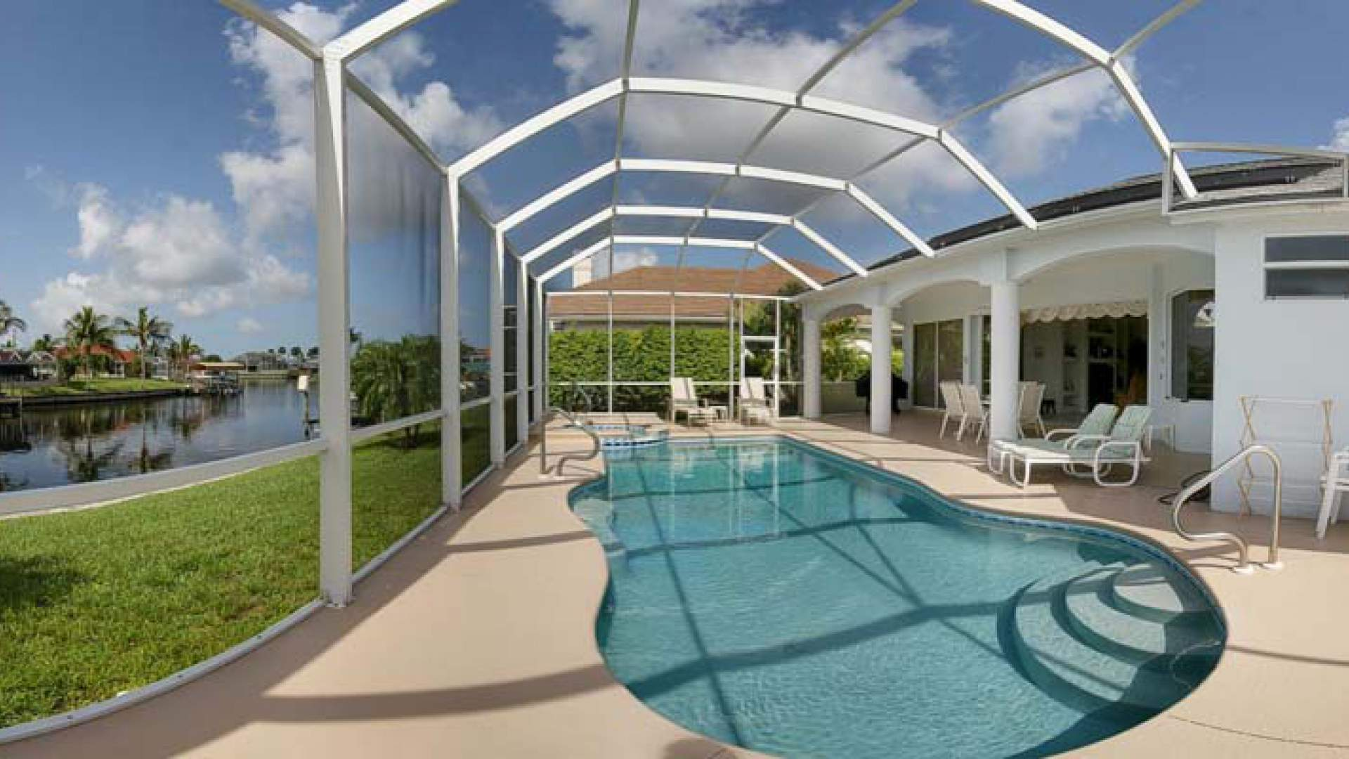 Pool and spa can be solar heated