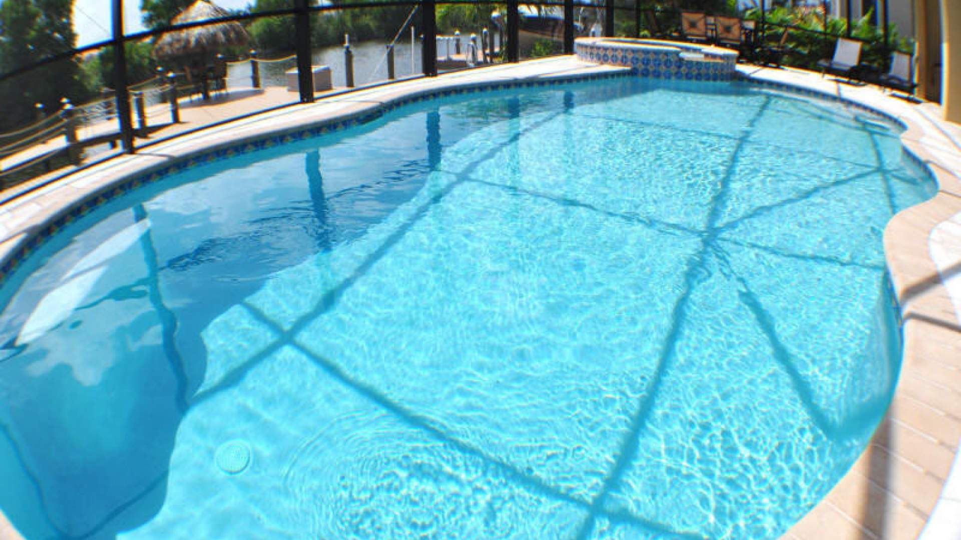 Pool and spa can be electrically heated