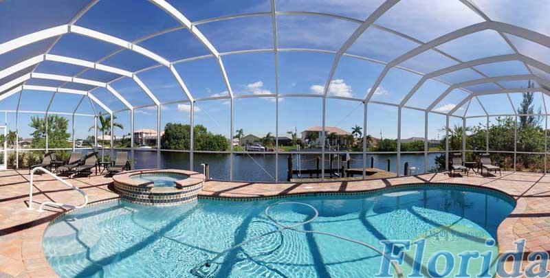 the pool area is a sunbathers delight and has great views of the waterways